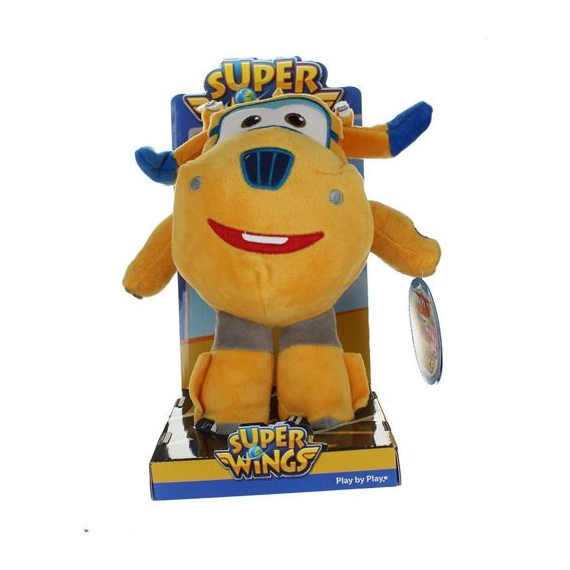 Super Wings 760016042C. Soft toy 25cm. Donnie.