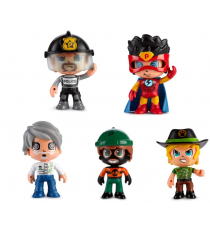Pinypon 700014490. Pack of 5 figures.