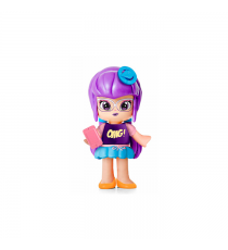 Pinypon 700014154C. Individual figure - violet hair girl