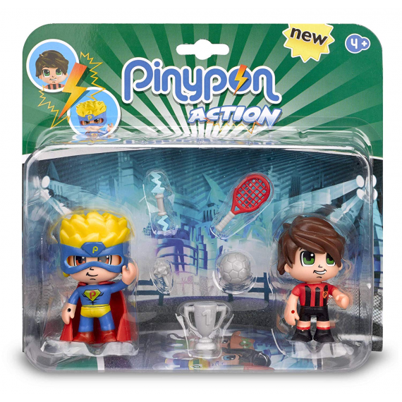 Action Pinypon 700014492A. Figure. Duo Pack.