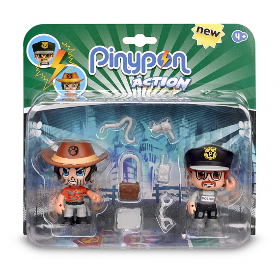 Pinypon Action 700014492B. Figura. Duo Pack.