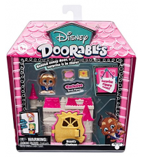 Disney Doorobles 14653A. Mini house: Beauty and the beast.