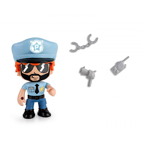 Pinypon Action 700014733F. Figure. Police Model.
