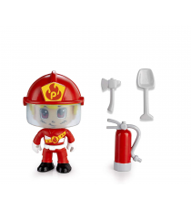 Pinypon Action 700014733D. Figure. Model Fireman.