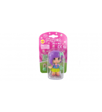 Pinypon 700014721C. Figure Fille cheveux Lilas.