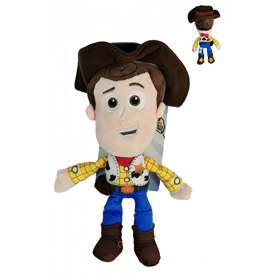 Toy Story 4 760018281A. Woody. Peluche con sonido 30cm.