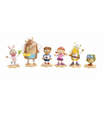 Tickety Toc 700011753. Pack de 6 figurines