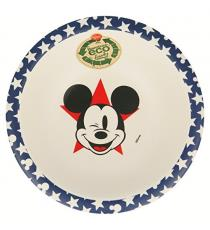 Disney 01320. Bamboo bowl. Mickey Mouse design