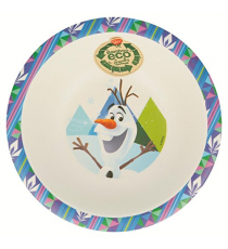 Disney 01330. Bamboo bowl. Frozen design.