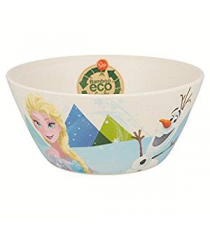 Disney 01332. Bamboo bowl. Frozen design.