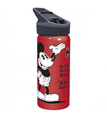 Disney 01635. Botella de aluminio 710ml. Diseño Mickey Mouse.