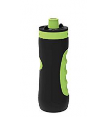 Quokka 06970. Botella Deportiva Sweat Black Lime 680ml.