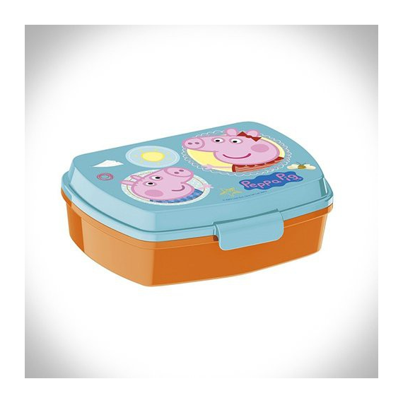 Peppa pig 13914. Sandwichera rectangular