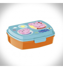 Peppa pig - rectangular Sandwich case