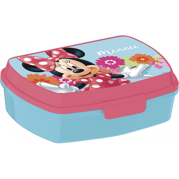 Minnie Mouse 14574. Rectangular Lunch box