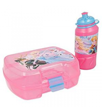 Disney 17967. Lunch box e bottiglia. Design congelato