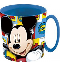 Disney 19004. Cup for microwave 350ml. Mickey Mouse design.