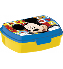 Mickey Mouse 19074. Boîte à lunch rectangulaire