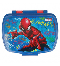 Marvel 37974. Lunch box. Design Spiderman.