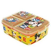 Disney 44220. Lunch box. Mickey Mouse Design.