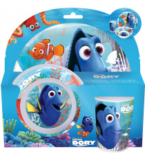 Disney 84590 Finding Dory - Set melamine tableware 3 pieces