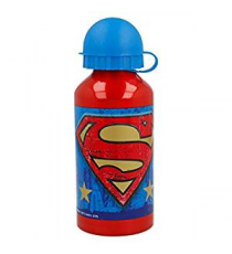 Superman 85634. Botella Aluminio 400ml.