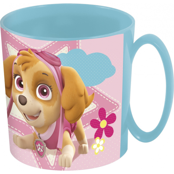 Paw Patrol - Cup 36 cl microwave. Skye and Everest
