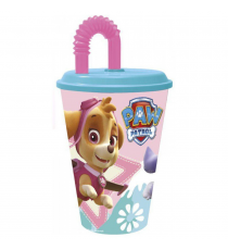 Paw Patrol 86730 - Vaso caña value modelo Skye y everest