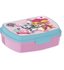 Paw Patrol - Rectangular Lunchbox Skye and Everest