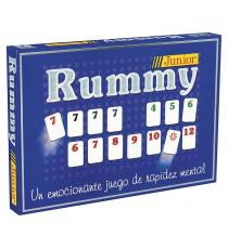 Falomir 646456. Rummy Junior game.
