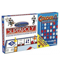 Falomir 646385. Superpoly Double Set + Place 4
