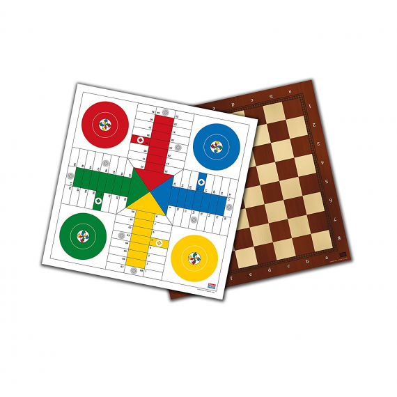 Falomir 27907. Parcheesi and Checkers.