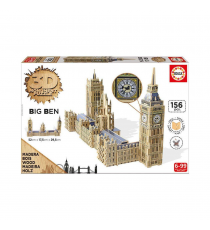 Educa Borras 16971. Parlement et Big Ben. Puzzle en 3D.