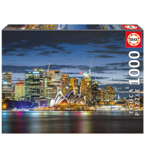 Educa Borras 17106. City of Sydney at Twilight. Puzzle 1000 pieces.