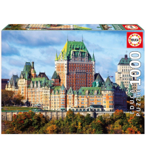 Educa Borras 17107. Castle of Frontenac. Puzzle 1000 pieces.