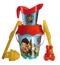 Paw Patrol 312025. Bucket Castle beach, including shovel, rake, molds and shower