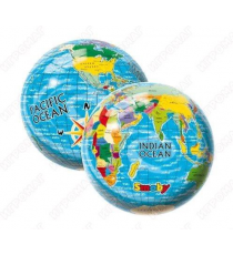 World Map 2004. The ball for children of 23cm