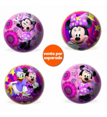 Mondo 2608. Ball 23cm. Design Minnie Mouse. Random model