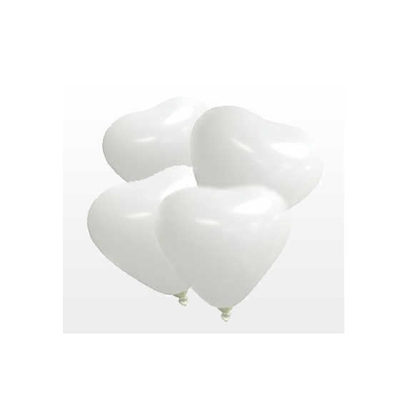 Royaltex 12RP. 50 Globos. Color Blanco