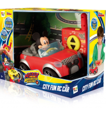 Mickey and the roadster racer 181953. radio control car.
