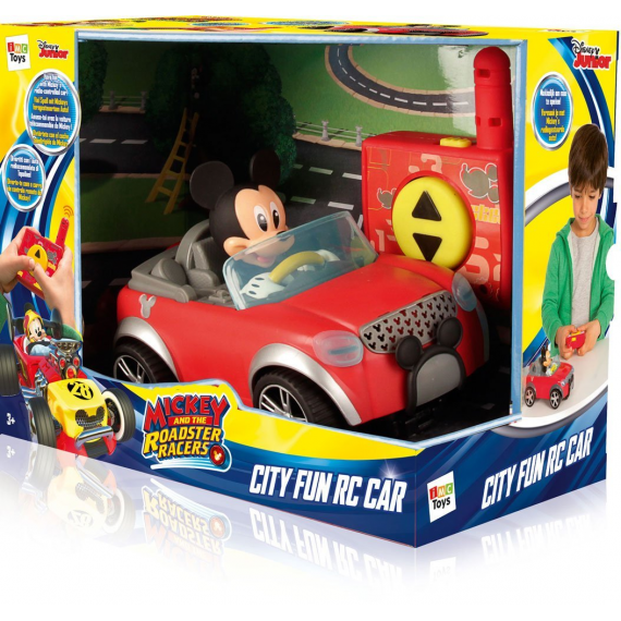 Mickey and the roadster racer 181953. Coche radio control.