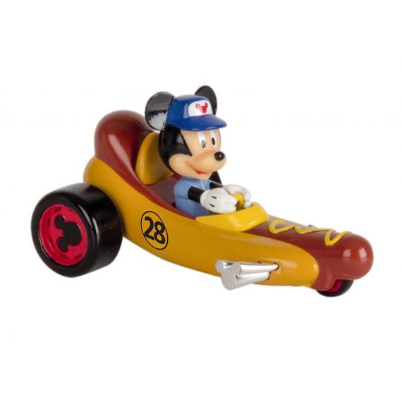 Mickey Mouse & los super pilotos 183759. Mickey Mouse. Coche Hot dog.