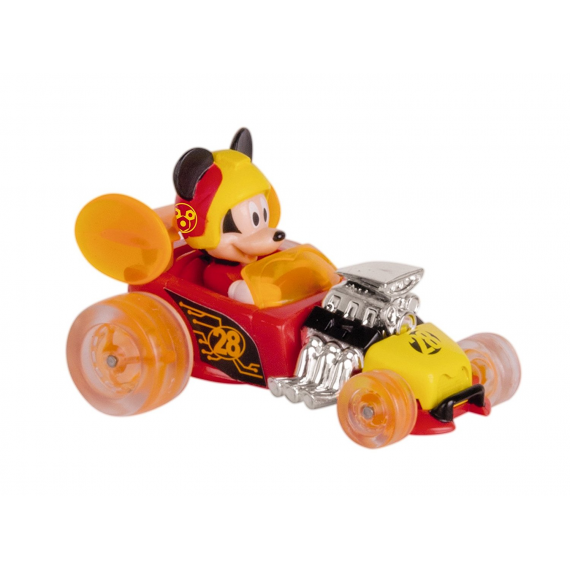 Mickey Mouse et le Roadster 183766. Mickey Mouse. Tige chaud voiture.