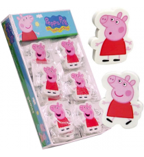 Peppa Pig ER-02-PG. Goma de Borrar Decorada. Display 24 unidades.