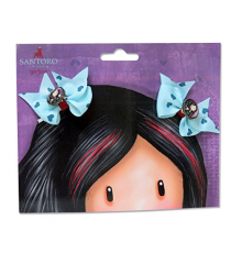 Gorjuss 028EB-12-G. Rubber bands in the form of a bow.