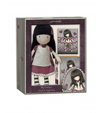 Gorjuss CK-04-G. Pack doll, jewelry box and braid for hair. Random model.