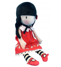 Gorjuss 028M-07-G. Cloth doll 30cm. Time To Fly.