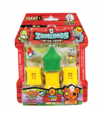 Zomlings P00675. Blister House. Random model.