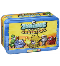 Zomlings Adventures 366. Tin with zomlings. Random model.