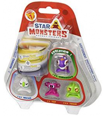 Star Monsters P00772. Blister of 4 figures..